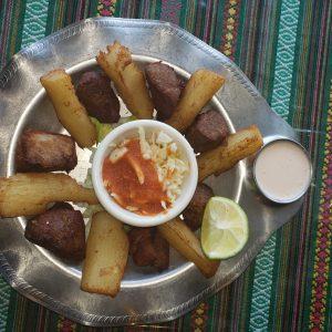 Yuca con Chicharrones – Fried Pork & Yuca