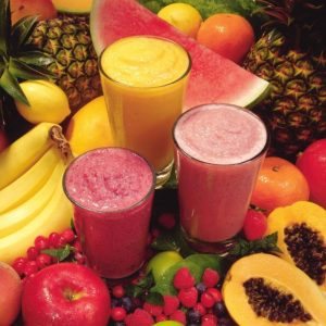 Natural Fruit Smoothie